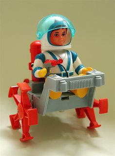 Billy Blastoff and moon crawler (1968-71) - GOT 'EM! Used to have the scuba one too...