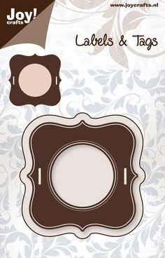 6002/0145 Noor! Design Stans Labels & Tags 2 st