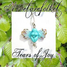 Tears Of Joy, Nymph, Fairy, Christmas Ornaments, Holiday Decor, Nymphs, Christmas Jewelry, Christmas Decorations, Christmas Decor
