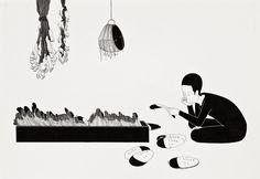 DESENHO MOONASSI - A ARTE GRÁFICA DE DAEHYUN KIM