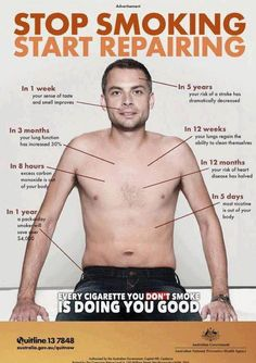 Quit Smoking -- Take that $4,000 a year that you USED to spend on cigarettes and invest in repairing your body and enhancing your health. Supplements are WAY cheaper and can do so much to help you live a healthier, longer life!