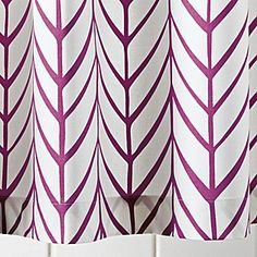 shower curtain - house mothers?? in the berry color