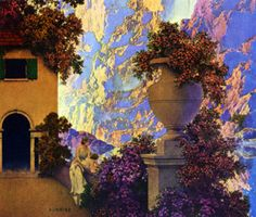 Sunrise by Maxfield Parrish  [Indigo Dreams]