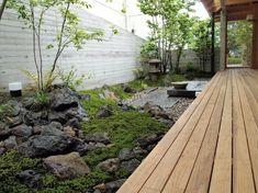 Landscape Elements, Landscape Architecture, Japanese Garden Backyard, Indoor Courtyard, Japanese Landscape, Japanese Aesthetic, House On The Rock, Garden Living, Back Gardens