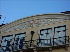 Topo de prédio,Av. Duque de Loulé, próximo do Marquês de Pombal, Lisboa