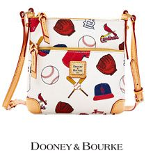 St. Louis Cardinals Letter Carrier Crossbody Bag by Dooney