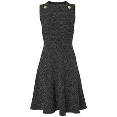 Shelby Tweed Dress | Dresses | L.K.Bennett ❤ liked on Polyvore (see more tweed dresses)