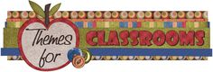 Themes For Classrooms - for all your classroom decorating inspiration  :)