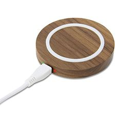 Qi Wireless Charger, GMYLE Mini Qi Charging Pad for All Qi Compatible Smartphones - Walnut Wood GMYLE http://www.amazon.com/dp/B015Q2MGXK/ref=cm_sw_r_pi_dp_LinEwb06Z0GN8