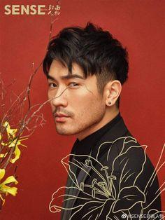 Godfrey Gao Godfrey Gao, Asian Haircut, Daniel Henney, Haircuts For Men, Girls Eyes, Asian Men, Perfect Match, Beautiful Men, Hair Cuts
