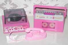 Barbie wind up...I forgot all about these!  I remember the record player for sure now!