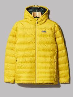 Patagonia Hi-Loft Down Sweater Hoody (Sulphur Yellow)