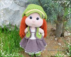 160 Besten Häkelpuppen Bilder Auf Pinterest Crochet Dolls