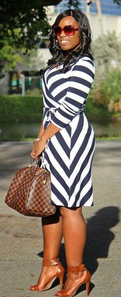 Via bloglovin':  Old Navy dress, Delshops shoes, LV Speedy 35 bag
