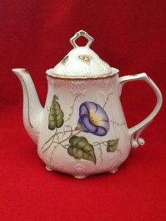 Anna Weatherly Morning Glory Teapot | eBay