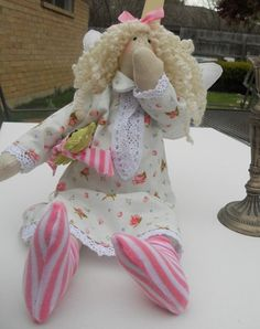 Angel Tilda Doll of Your  Dreamsmade to order by sweetshtuchky, $34.99