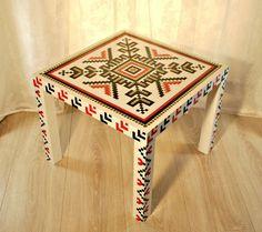 Masuta cafea Traditionala de Thalia Thalia, Dip, Furniture, Design, Home Decor, Vintage, Hardanger, Hipster Stuff, Embroidery