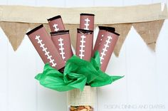 20 DIY Football Decorations for a Tailgate Tablescape - thegoodstuff