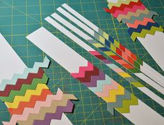 JJ Bolton {Handmade Cards}: Deconstructed Chevrons