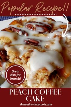 Brunch Cake, Breakfast Dessert, Breakfast Dishes, Breakfast Recipes, Morning Breakfast, Breakfast Casserole, Dessert Table, Breakfast Ideas, Best Brunch Recipes