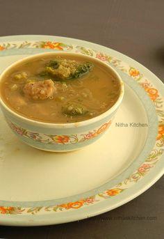 Nitha Kitchen: Quinoa Celery Broccoli Chicken Soup | Diet Soup Recipe