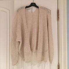 Cream knit cardigan from Brandy Brandy Melville cream knit cardigan Brandy Melville Sweaters Cardigans