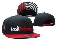 New Era 9Fifty NBA Snapbacks Hats Portland Trail Blazers Black 25