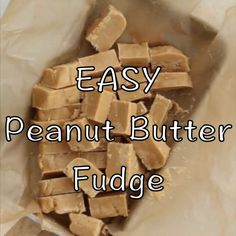 EASY Peanut Butter Fudge is a hit all year round. This is everyone's favorite candy recipe and you only need a handful of ingredients!