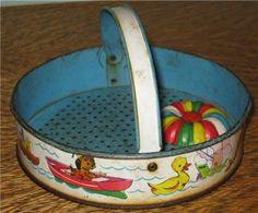 Sandbox Toy.  I think I had one just like it.