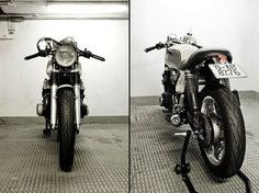 benjie's cafe racer don't just sell parts, they also build amazing