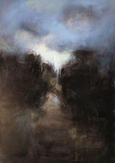 sans titre 2014, huile sur toile 115 x 81 cm