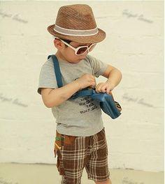 Boy Summer Hat,Straw Fedora Trilby,Gangster,Jazz,Cowboy,Kids Sun Fashion | eBay