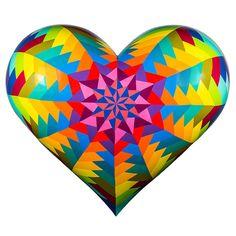 2015 Hearts - San Francisco General Hospital Foundation - 2015-Large_Farr-Kristin_Magic-Hecksagon-Heart