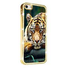 Tiger Bengal iPhone 5/5S Case Cover Diamond Crystal Rhinestone Bling Hard Gold Case Cover Protector PAZATO http://www.amazon.com/dp/B00NSDRTF0/ref=cm_sw_r_pi_dp_XHziub1C8EN6X