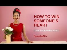 SuzelleDIY - How to Win Someone's Heart A Bitesized DIY Web-series. SuzelleDIY - How to Win Someone's Heart Pink Live, Valentines Diy, Diy Videos, Heart, South Africa, Youtube, Life Hacks, Clever, How To Make