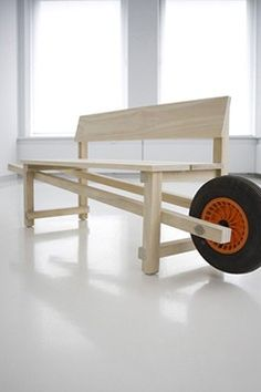 Bank - Wheelbench Designer_Rogier Martens