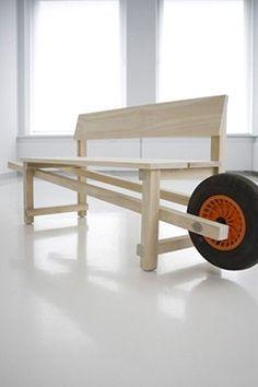 Bank - Wheelbench Designer_Rogier Martens