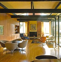 Edward Fickett, 1966, George & Marion Jacobson house #2 from Forgotten Modern photo: Alan weintraub. Pinned by Secret Design Studio, Melbourne, www.secretdesignstudio.com