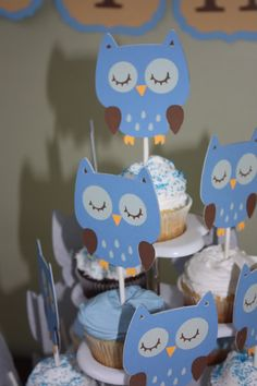 Owl Themed Birthday Party!