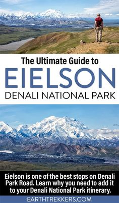Eielson Visitor Center is located on mile 66 of Denali Park Road. This area is one of the best parts of the park to visit, since you get some of the best views of Denali, can spot all of Alaska's Big 5, and do some of the best hikes in Denali. Get all the details in this guide.
