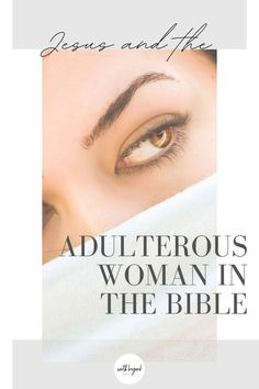 """Out of all of the stories of Jesus that can impact our lives and how we see His love and mercy, it is the story of the adulterous woman in the Bible. Through this story we get to see a picture of how the law was never meant to be absent of grace and mercy and we can also see how Jesus stands """"in the middle"""" with us when we too are accused. Read on to learn more. Christian Devotions, Christian Faith, Christian Living, Adulterous Woman, Powerful Bible Verses, Jesus Stories, Study Help, Bible Studies, Counseling"""
