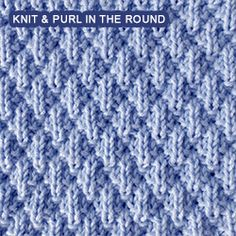 A simple and easy stitch for beginner knitters. A simple and easy stitch for beginner knitters. Knitting , lace processing is the most beautiful h. Loom Knitting Stitches, Dishcloth Knitting Patterns, Knitting Blogs, Knitting Charts, Round Loom Knitting, Easy Knitting, Knitting For Beginners, Easy Stitch, Knit In The Round