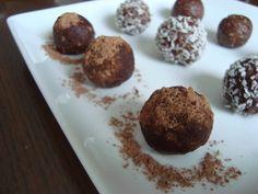Healthy dessert balls     #raw, #dates, #healthyfood, #naturalfood,
