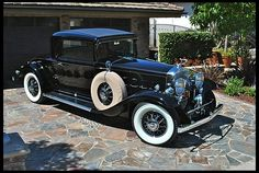 1931 Cadillac V-12 Rumble Seat Coupe 2013 CCCA Senior First Place
