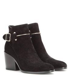 mytheresa.com - Suede Ankle Boots * Balenciaga + mytheresa - Luxury Fashion for Women / Designer clothing, shoes, bags
