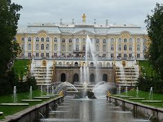 Grand Palace, St. Petersburg, Russia