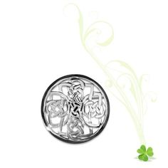 Deirdre Celtic Knotwork Brooch Small