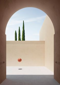 In this series titled 'Gravity', Italian digital artist Massimo Colonna's work echoes the minimal, stark simplicity of the modernist artists of the 40s and 50s. Utilising familiar architectural motifs like the arch and referencing the classical Italian landscape with Tuscan pencil pines, Colonna creates warm staged scenes in brilliant sunlight and sharp shadows. There is a feeling of …
