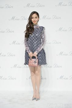 Angelababy - Miss Dior exhibition opening in Beijing, China - April 29, 2015