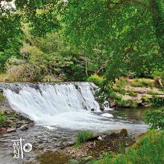 Green Way beside Río Eo (Biosphere Reserve), very near St James Way in El Llano, San Tirso de Abres (Asturias)